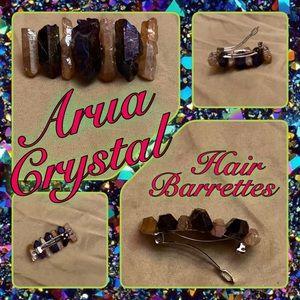 Accessories - Arua Crystal Hair Barrettes